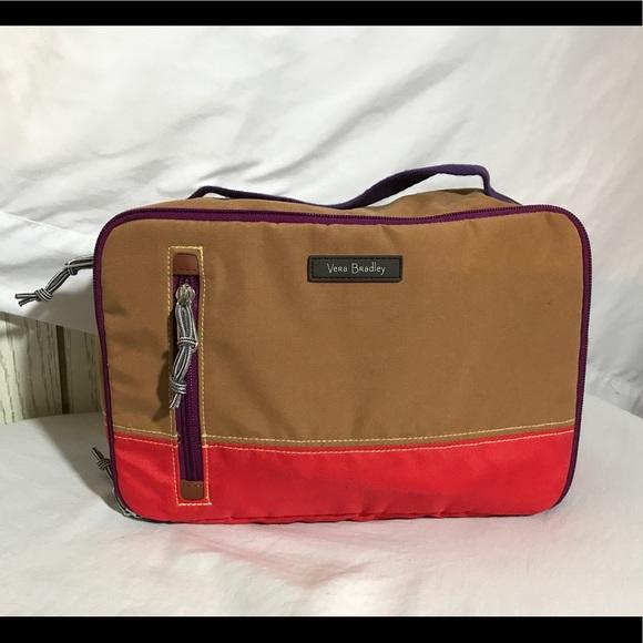b06f17eba679 Vera Bradley Iconic Large Blush   Brush Case